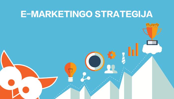 e marketingo strategija