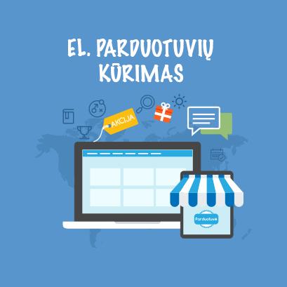 elektroniniu parduotuviu kurimas